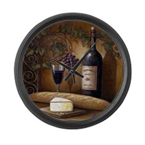 Cafepress Best Seller Grape Large 17 Round Wall Clock
