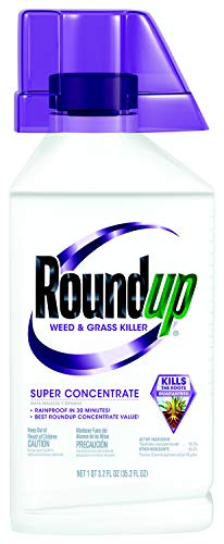 Roundup Weed and Grass Killer Super Concentrate, 35.2-Ounce (Best Weed Killer On The Market)