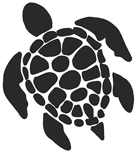 (hBARSCI Sea Turtle Vinyl Decal - 5