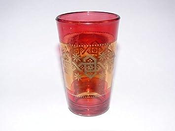 Orientalische Glaser Tee Glas Minze Marokko Arabische Deko Amazon