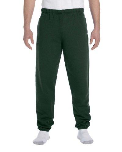 - Jerzees Men's Super Sweatpants with Pocket (Forest Green/Medium)