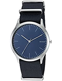 Skagen  Men's  SKW6364 Jorn Blue Nylon Watch