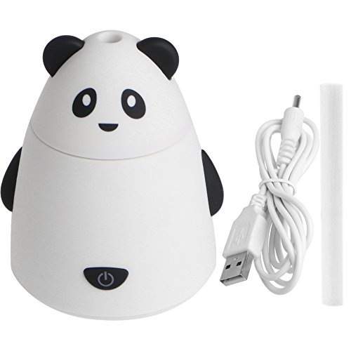 Julyshop 80ml Aromatherapy Essential Oil Diffuser Portable Ultrasonic Humidifier with USB Cable (white) by Julyshop