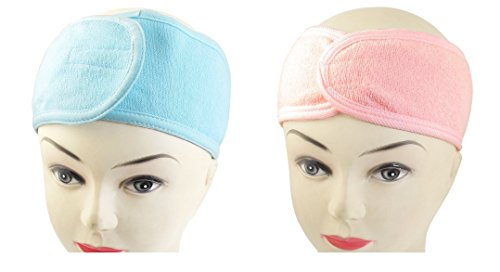 DMtse Set of 6 Spa Bath Shower Makeup Headbands Wash Face Cosmetic Headband Hair (Headband Makeup)