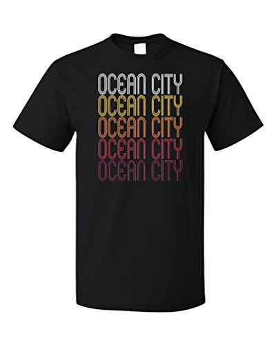 Ocean City, NJ   Retro, Vintage Style New Jersey Pride T-shirt