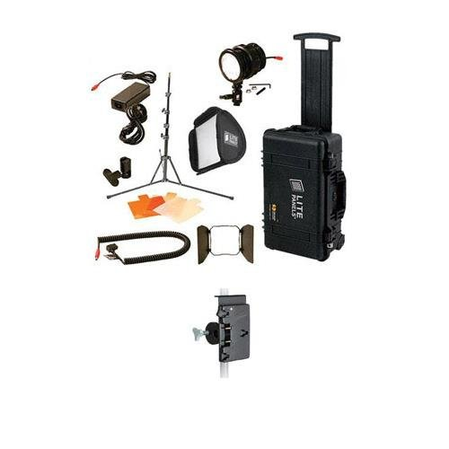 Qrc Kit (Litepanels Sola ENG Flight Kit - Bundle - with Anton Bauer QRC-LG Gold Mount and Light Stand)