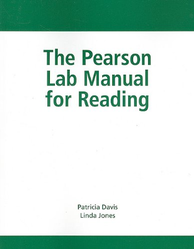 The Pearson Lab Manual for Reading