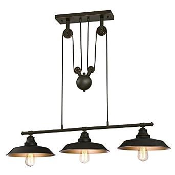 Westinghouse 6332540 Luminaire Suspendu A Poulies D Interieur A