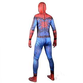 - 41pKKLIgbNL - 2017 New Justice Spider Man Suit Boys Cosplay Halloween Costume Kids