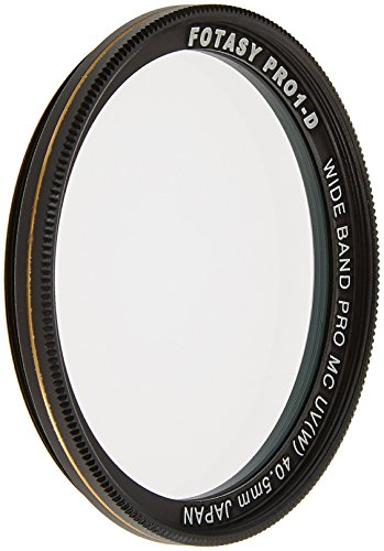 Fotasy 40.5mm Nano Multi-Resistant-Coated 16 Layer MC Super Slim HD UV Filter