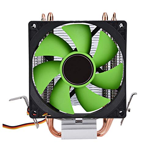 (Pokerty Cooling Fan, 9cm 3Pin Mute Fan Working 30000 Hours and 2100±5% RPM Equipped with Thermal Grease for LGA775/1156/1155/AM2/AM2+/AM3)