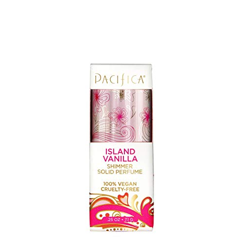 Island Vanilla by Pacifica Shimmer Solid Perfume Women