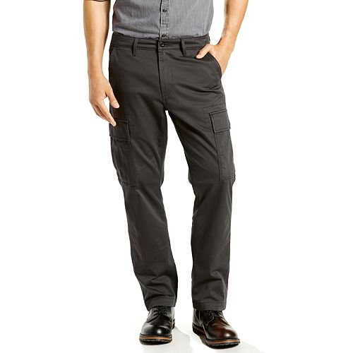 Levi's Mens Men's 541 Athletic Cargo Graphite 38 X 32 Levis Cargo Jean