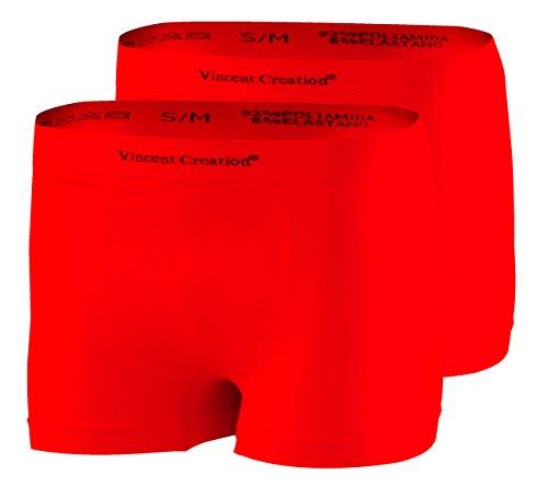 Para Costuras rojo Tipo Calzoncillos Rojo Calidad De 2 Bóxer Pack Sin Hombre Alta qYAzxyT