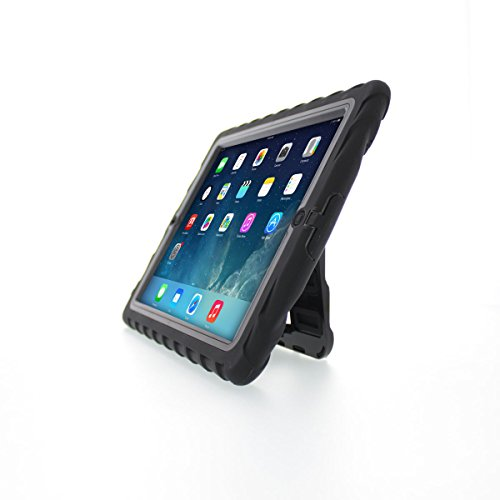 - Gumdrop Cases Hideaway Stand for Apple iPad 3 Rugged Tablet Case Shock Absorbing Cover Black/Black A1403, A1416, A1430
