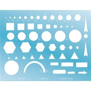 Cool Tools - Geometric Shapes Template by Cool Tools