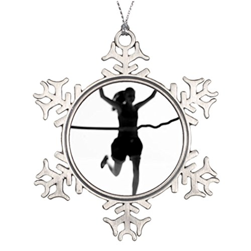 [Personalised Christmas Tree Decoration Nyc Halloween Tree Snowflake Ornaments Marathon] (Halloween Decorations New York)