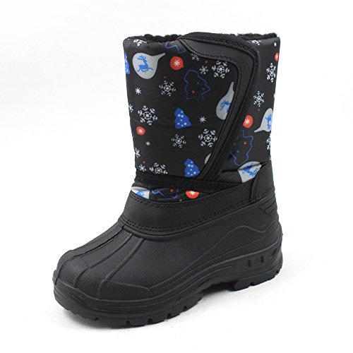 Ska-Doo Cold Weather Snow Boot 1319 Winter Prints Size 8