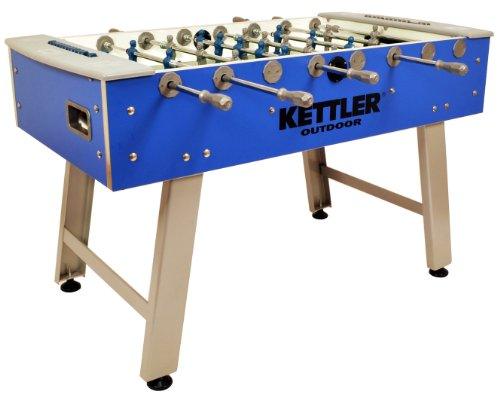 Action Foosball Soccer Table (Kettler Weatherproof Indoor/Outdoor Foosball/Soccer Game Table)
