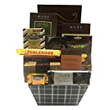 Stylish Easter Gift Basket with Lindt, Ghirardelli, Toblerone & More