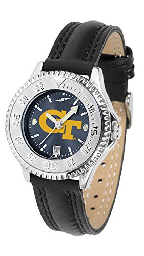 Georgia Tech Yellow Jackets Competitor AnoChrome Women's Watch by SunTime