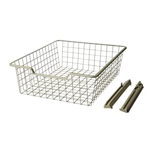 ikea komplement wire basket beige 50x58x16 cm kitchen home. Black Bedroom Furniture Sets. Home Design Ideas