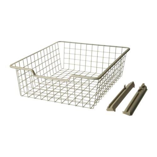 Ikea Komplement Panier De Fil Beige 50x58x16 Cm Amazon