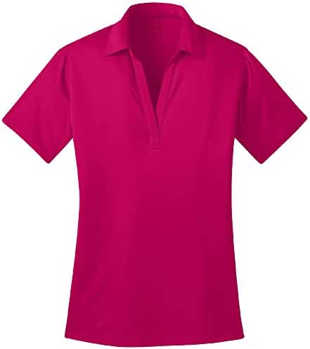 Joe's USA Ladies Silk Touch Golf Polo's in 16 Colors - Sizes XS-4XL