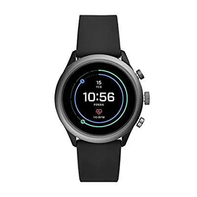 Fossil Men Gen 4 Sport Metal and Silicone Touchscreen Smartwatch from Fossil