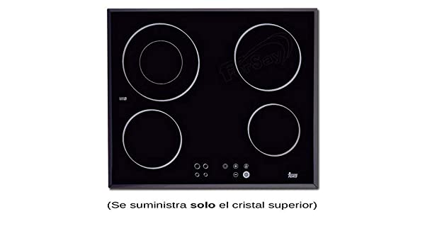 ANCASTOR Cristal VITROCERÁMICA TEKA TR620 (Solo Cristal ...
