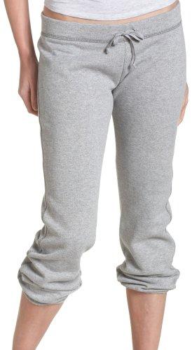 (Soffe Juniors Fleece Roll Up Capri, Oxford, Medium )