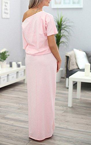 Sommerkleider Damen Elegant Kleid Jungen Mode Mädchen Lang Kurzarm ...