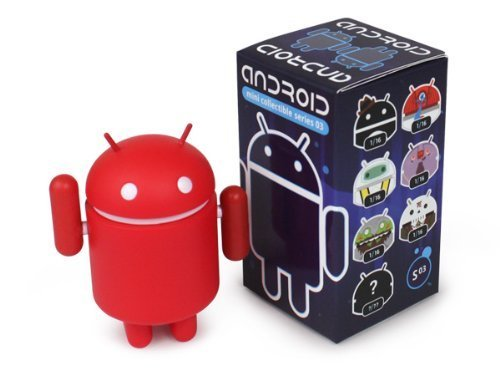 Android Mini Series 3 Red by Google Inc 2/16 Figur…