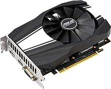 ASUS Phoenix GeForce GTX 1660 Super OC Edition 6GB GDDR6 - Tarjeta gráfica (hasta 1830 MHz de frecuencia, Ventilador Wing-Blade, Resistencia al Polvo IP5X, tecnología Auto-Extreme, GPU Tweak II)