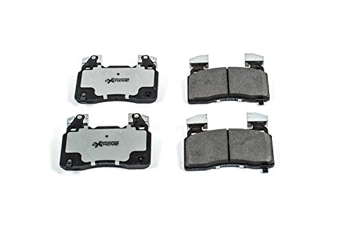 Power Stop Z26-1474A Z26 Extreme Performance Carbon-Ceramic Front Brake Pad Set