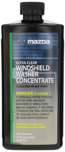 Genuine Mazda Fluid (0000-77-400E-15) Ultra-Clear Windshield Washer Concentrate - 16 oz. (Windshield Washer Fluid Mix compare prices)
