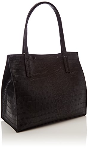 y Black hombro Mujer Shoppers de Bags Hobo Negro bolsos GUESS 6PAfwq