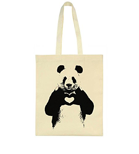 Bag Heart Idcommerce Showing Cute Tote Panda AqXXvwg0