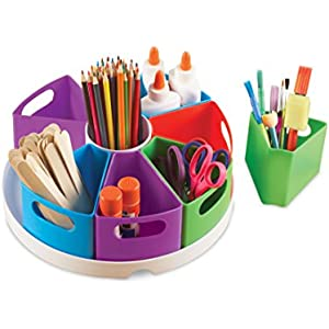 Learning Resources Create-a-Space Storage Center, Bright Colors