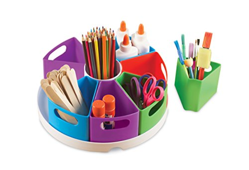 Wide Teachers Learning Center - Learning Resources Create-a-Space Storage Center, Bright Colors