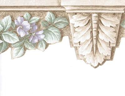 Floral Wallpaper Border 75358 AR DC