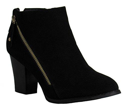 M Boots 5 Black Nadia 1 Glaze Womens D US ZIqa00