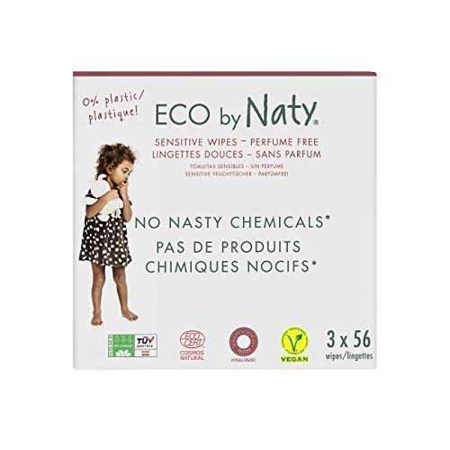 🥇 Eco by Naty Toallitas sin Fragancia para bebé