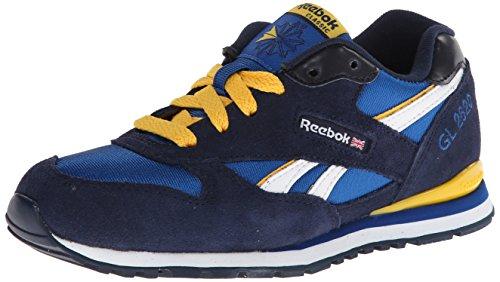 Reebok Classic Gl 2620 zapatilla de deporte (niño pequeño / niño grande) Blue