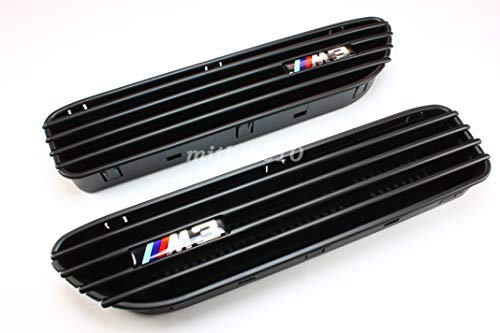 B2 Side Fender Grille Grill Vents for BMW E46 M3 2001-2006 -DHL Shipping ()