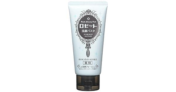 Amazon.com: Rosette Limpieza Pasta acné Claro 120 g (Quasi ...