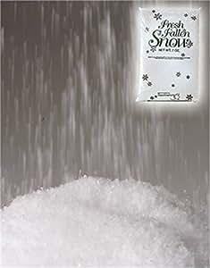 3.5 oz Bag of White Christmas Decoration Snow Flakes