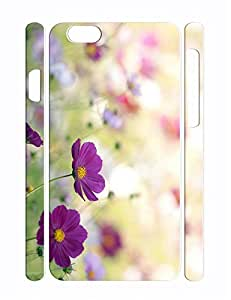 Individualized Glam Flower Pattern Hard Plastic Iphone 6 Plus 5.5 Inch Cover Case