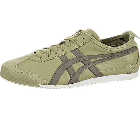 Onitsuka Tiger Unisex Mexico 66 Shoes 1183A201, Safari Khaki/DarkTaupe, 8 M US