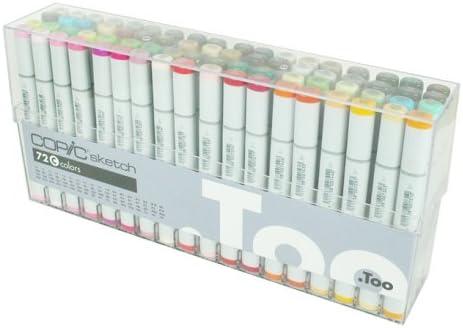 Copic Sketch Marker 72 Color Set C Premium Artist Markers